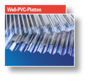 Button Well-PVC-Platten